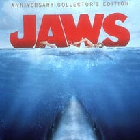 """The poster for """"Jaws."""""""