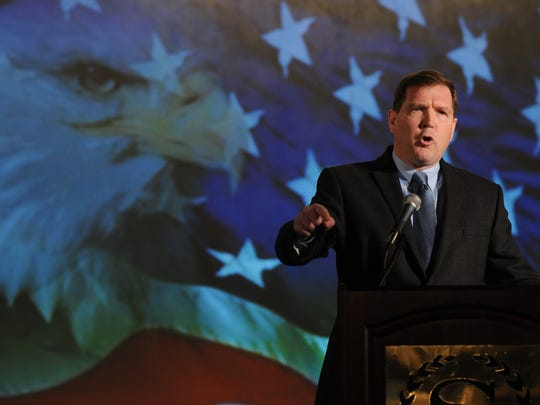 Doherty spoke at the Defending the American Dream Summit