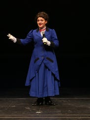 "Megan Campbell of Brewster High School won the 2017 Metro Award for actress in a leading role for her portrayal of Mary Poppins. Brewster presents ""The Music Man"" March 22-24."