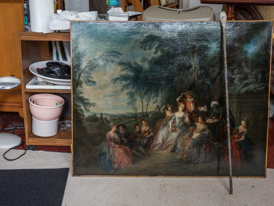 An 18th Century painting that was recently restored