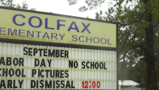 Colfax Elementary School is located in Grant Parish, one of 16 districts to receive funding for teacher preparation.