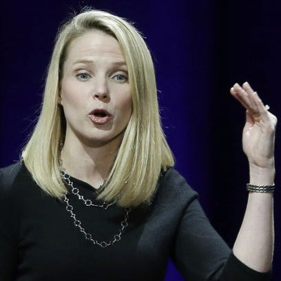 In this Feb. 19, 2015, file photo, Yahoo President