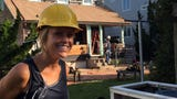 "Bethany Beach builder Marnie Oursler is in the spotlight on the new DIY show ""Big Beach Builds."""
