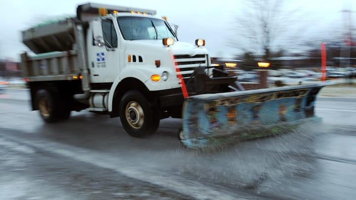 Pothole patching pauses as road crews prepare for possible light wintry mix Sunday