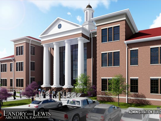 This is an architectural rendering of William Carey