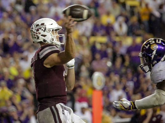 NCAA Football: Mississippi State at Louisiana State