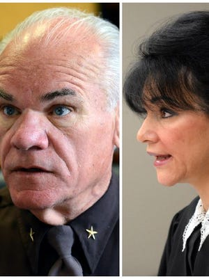 A federal lawsuit filed by Ingham County Circuit Court Judge Rosemarie Aquilina against former Ingham County Sheriff Gene Wriggelsworth has been dismissed.