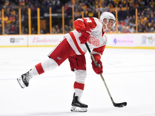 Detroit Red Wings right wing Gustav Nyquist should appeal to a Cup contender looking to add scoring.