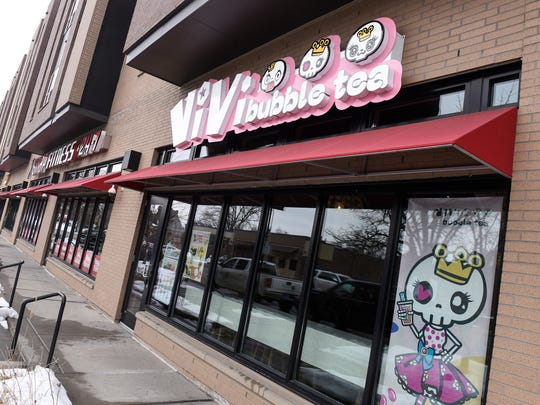 ViVi Bubble Tea is pictured Wednesday, March 21, in St. Cloud.