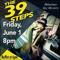 "Wayland Baptist University theater troupe performs ""The 39 Steps"" at the Spencer Theater June 1"