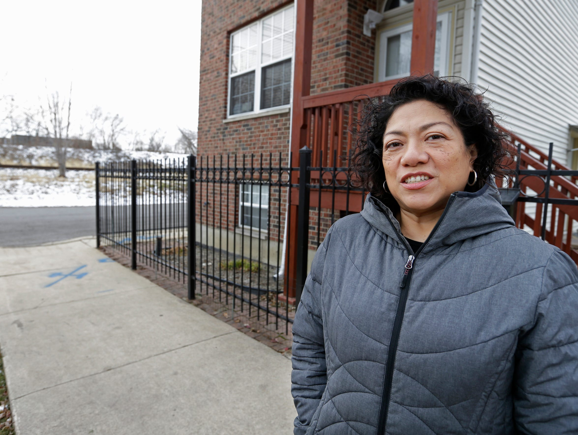 Carlota Trevino, a Chicago resident, lives two blocks from Meyer Steel Drum, a barrel processing plant on Chicago's south side. She says she has endured smelly fumes from the plant for year.