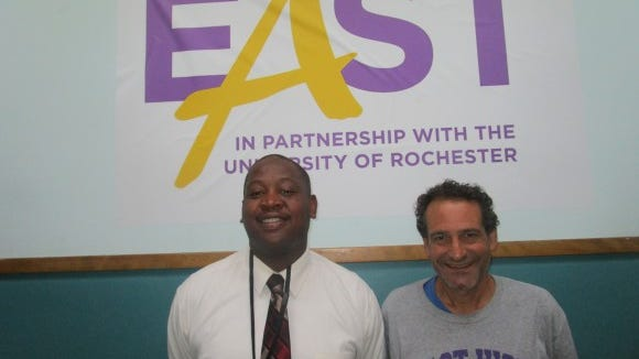 Dean of Students Deon Rodgers and myself