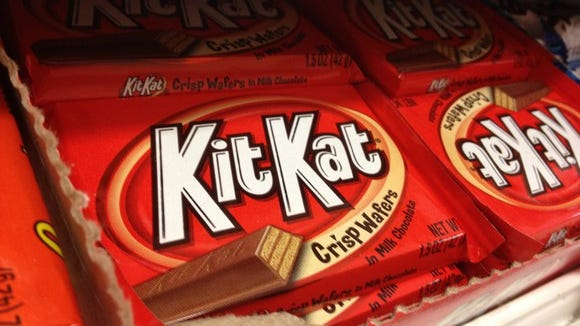 Although made by Nestle, KitKat wafers are sold by Hershey under license, an affiliation that could attract the global confectioner.