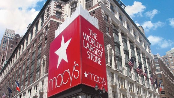 The Macy's store in Herald Square