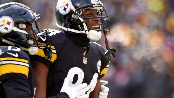 The big-play threat of Steelers receiver Antonio Brown