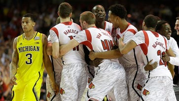 UM's Beilein on title game vs. Louisville: 'They beat us fair and square'
