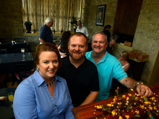 Owners of The Vineyard, Pam Kilmartin, Glen Hill and Paul Kilmartin.
