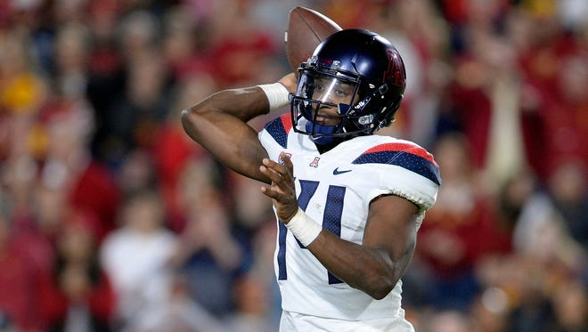 Will Khalil Tate and the Arizona Wildcats roll against the Oregon State Beavers in Tucson?