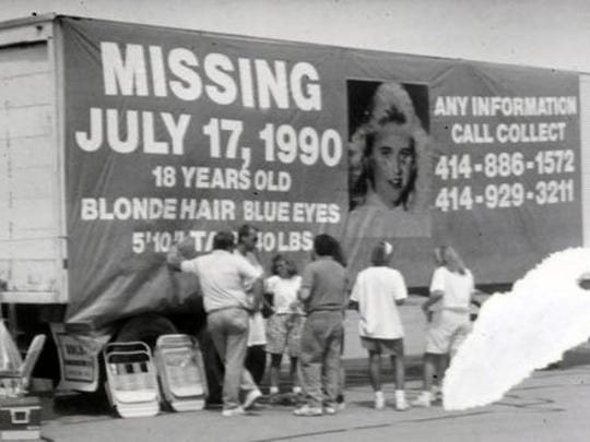 Photos of filed photos from the July 17, 1990 Missing