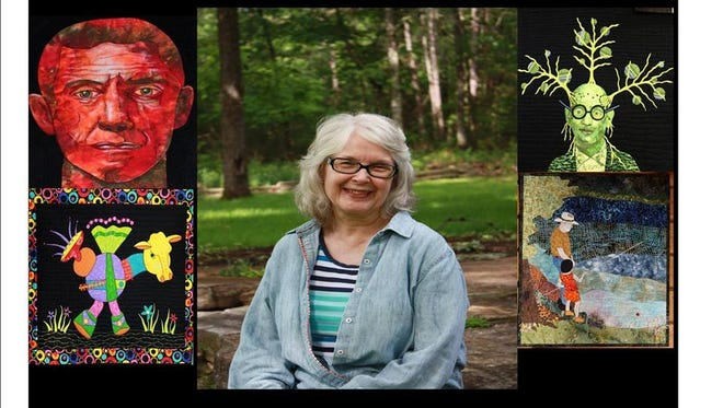 Barbara Carlson and examples of her work.