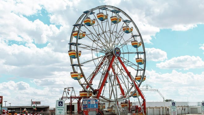 File photo of an amusement ride at the Otero County Fair Rodeo in 2016.
