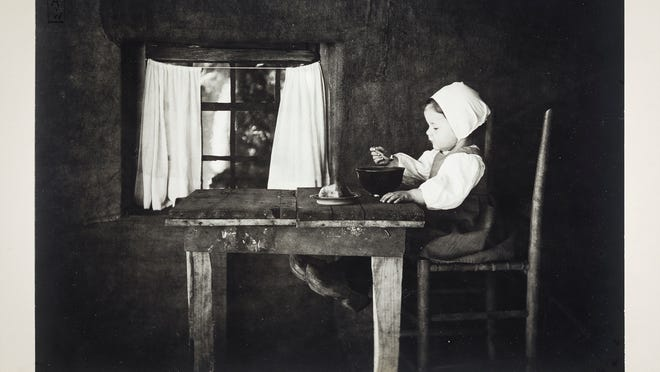 """""""Hunger ist der Beste Koch"""" (""""Hunger is the Best Cook"""") by Myra Wiggins was photographed circa 1899. A collection of her work is on exhibit Feb. 14 through April 26 at the Hallie Ford Museum of Art."""