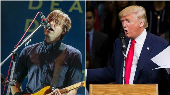 Death Cab for Cutie's new song is the first in a series of anti-Trump tunes leading up to the election.
