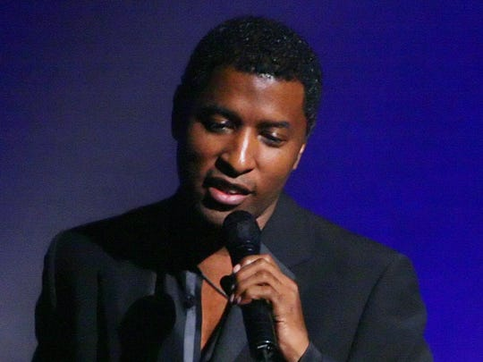"""Kenny """"Babyface"""" Edmonds performs a homecoming concert at the Madame Walker Theatre Center in December 2007."""