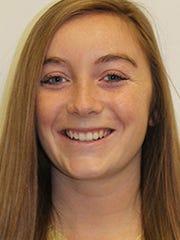 University of Pittsburgh-Bradford women's basketball player Abby Brate (Eastern York)