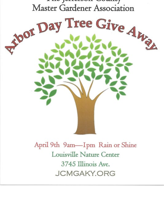 Arbot Day Tree Giveaway- please crop this photo