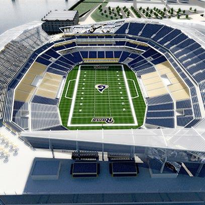 New proposed NFL stadium renderings