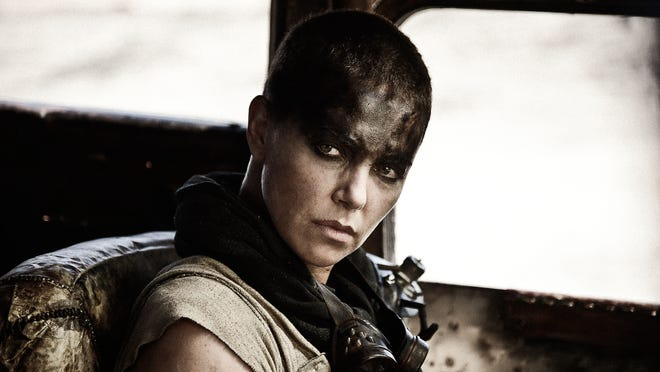 """This image released by Warner Bros. Pictures shows Charlize Theron in a scene from """"Mad Max: Fury Road."""""""