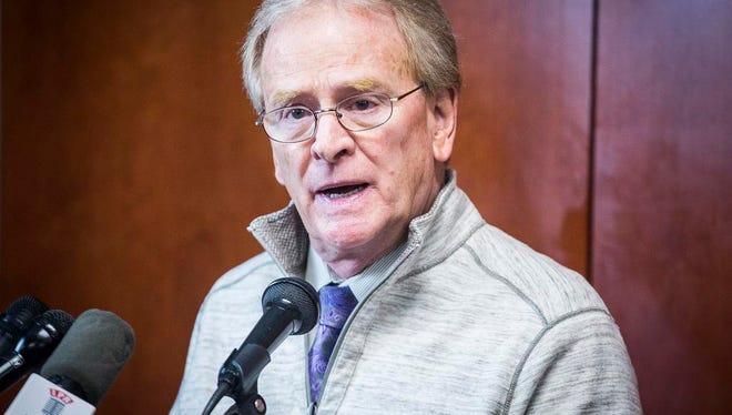 Mayor Dennis Tyler.