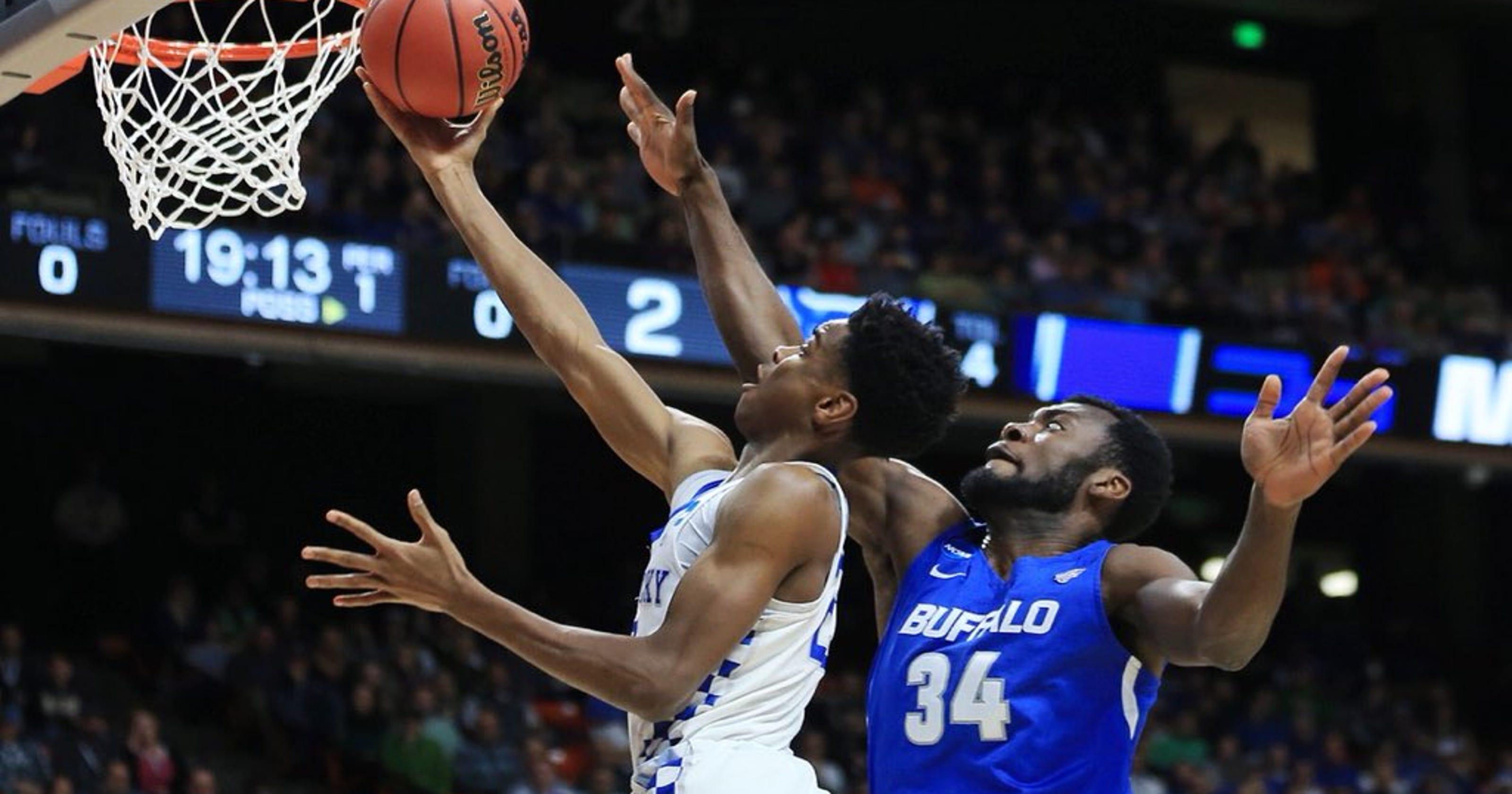 1717e356ff62 Kentucky basketball moves into NCAA Tournament Sweet 16 with win against  Buffalo