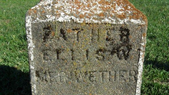 Gravestone of Ellis Meriwether located on Google property.