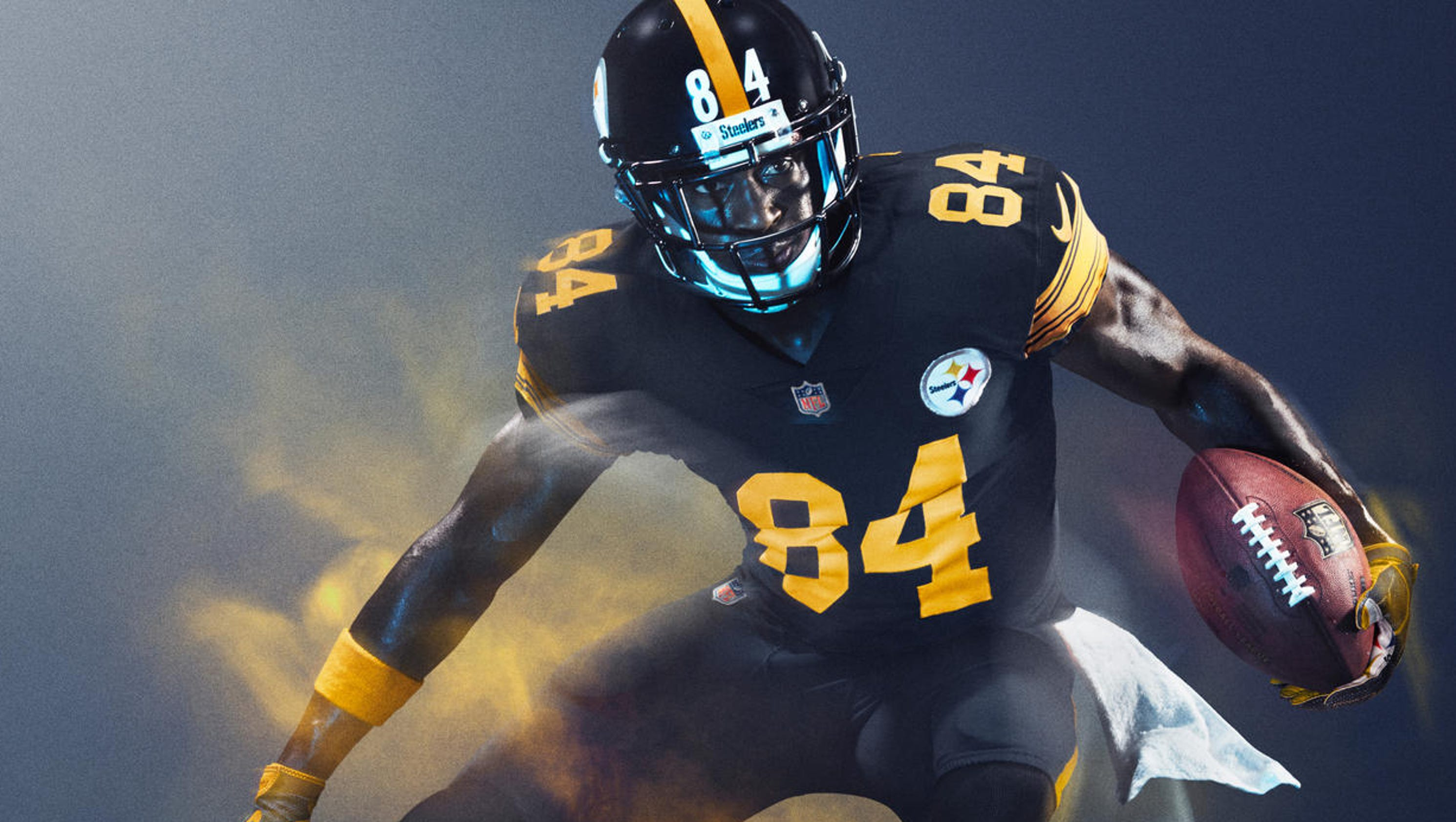 58c238a0600 nike color rush uniforms take center stage on thursday night football