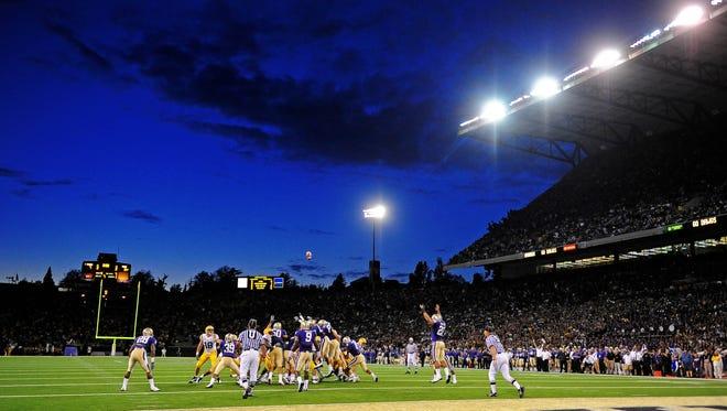 Husky Stadium in Seattle.