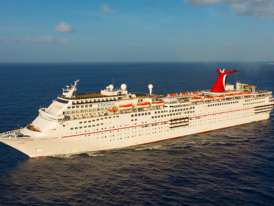 The Elation, which went into service in 1998, recently came out of a major dry dock renovation.