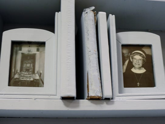A photo of Sister Mary Carlos was tucked away in the