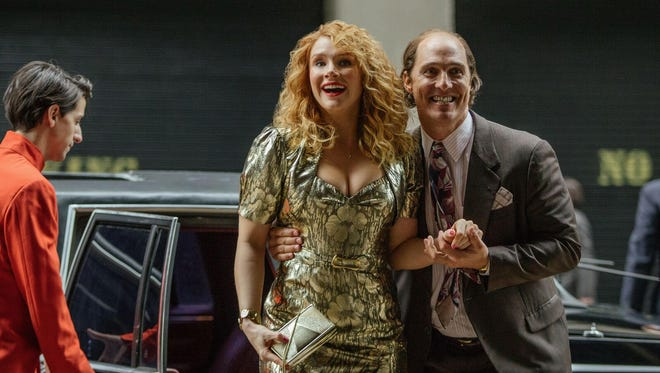 "Bryce Dallas Howard and Matthew McConaughey star in ""Gold."""