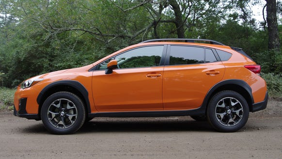 review new subaru crosstrek comes blizzard ready. Black Bedroom Furniture Sets. Home Design Ideas