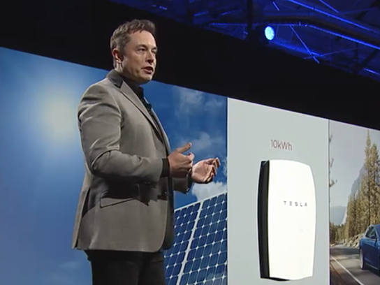 Elon Musk Tesla Energy Event Powerwall Unveils
