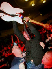 The Early November, pictured at the 2003 Skate and Surf Festival at Convention Hall, Asbury Park.