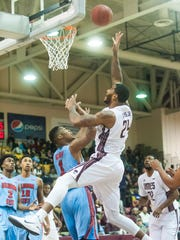 UMES forward Michael Myers scored 17 as the Hawks reach