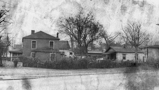 Dozens of homes in the Little Texas community were demolished in the early 1970s to make way for a new coliseum.