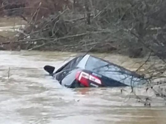 Pelahatchie police officer Shane Gibson rescued Kristy