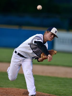 Dallastown's Alex Weakland threw five no-hit innings against South Western on Friday. YORK DISPATCH FILE PHOTO