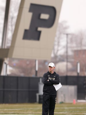 Purdue coach Jeff Brohm has raised expectations not only for Boilermaker fans but his players as well.
