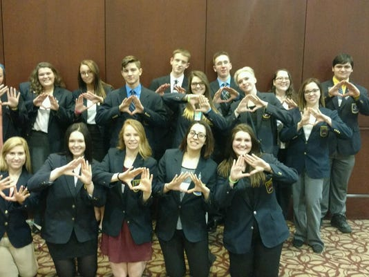 DECA at State Mar 2016