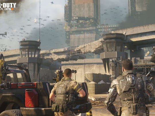 A scene from the upcoming video game 'Call of Duty:
